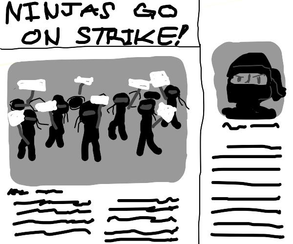 Ninja strike!