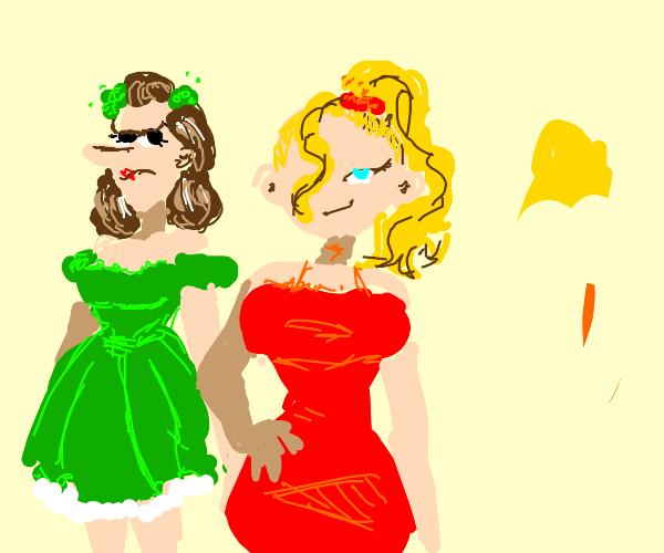 three evil stepsisters