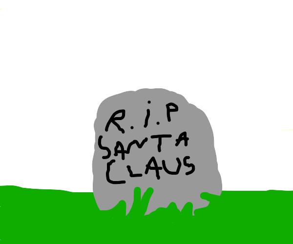 oh no! santas dead