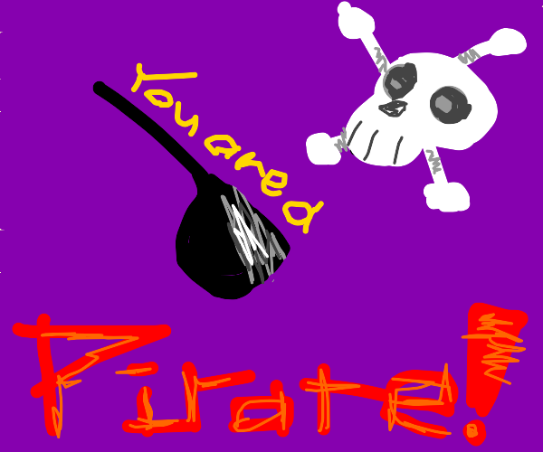 Do what you want cause a pirate is free