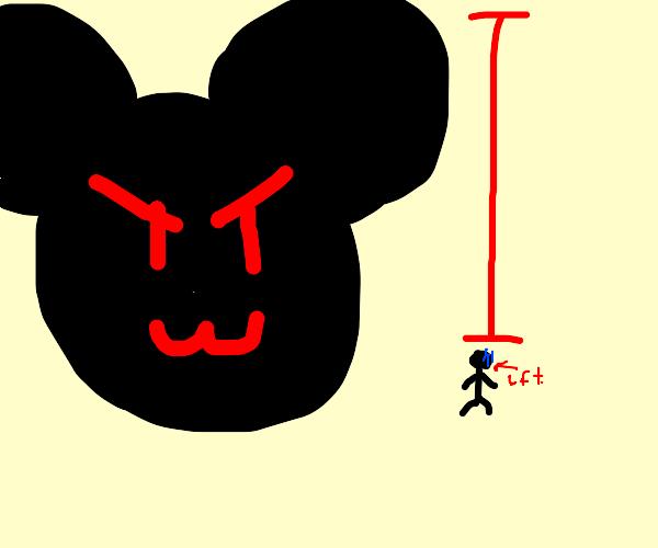Gigantic Mickey