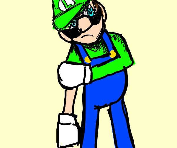 Luigi wants a fight