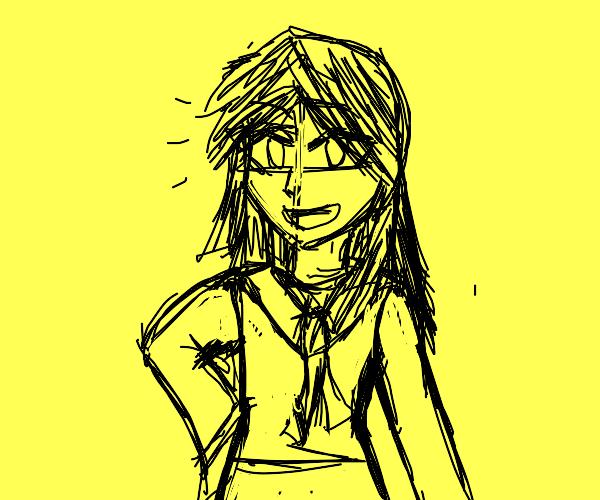 A regular ol' japanese schoolgirl