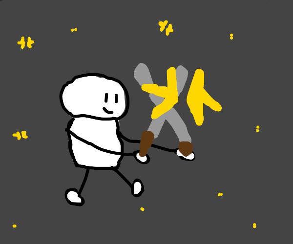 Cutting stars in half