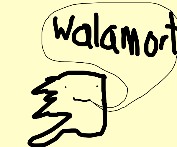 Alaska knows not the name of walmart...