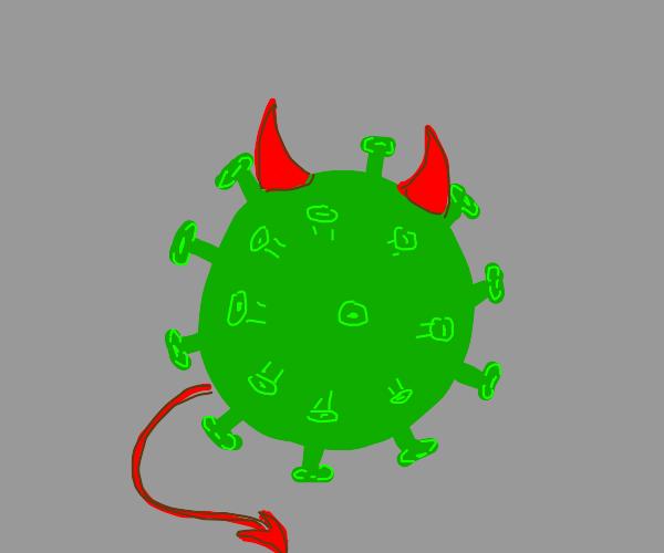 evil corona