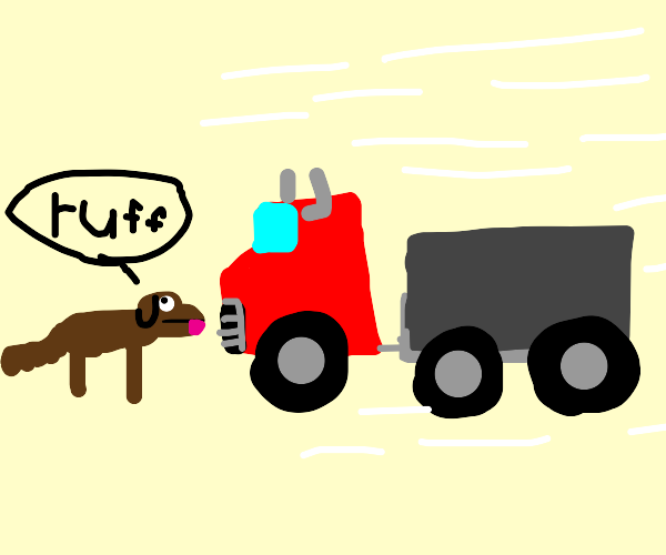 Incoming Truck