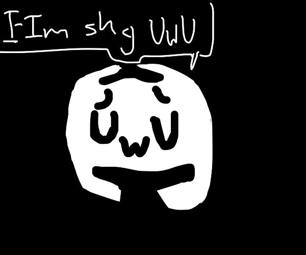 discord is shy OWO