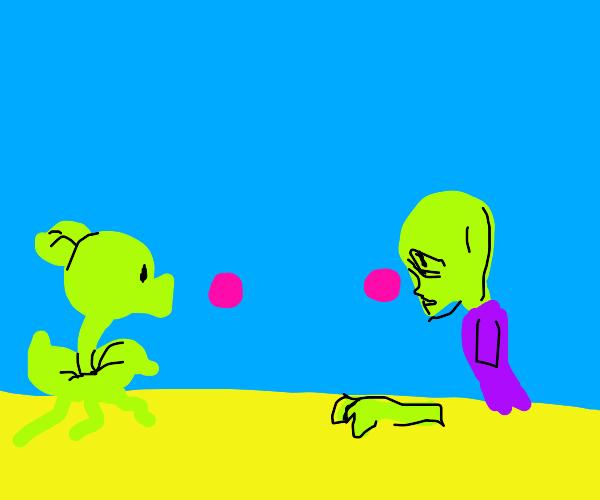 plants vs. zombies vaporwave