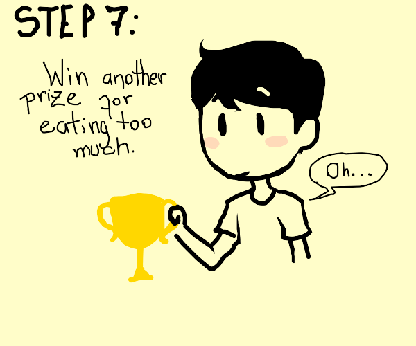 Step 6: Eat the remains of your prize