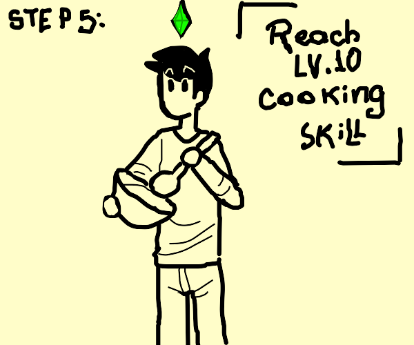 Step 4: Take a cooking class with the devil