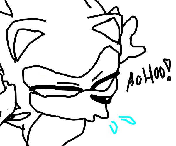 sneezing sonic
