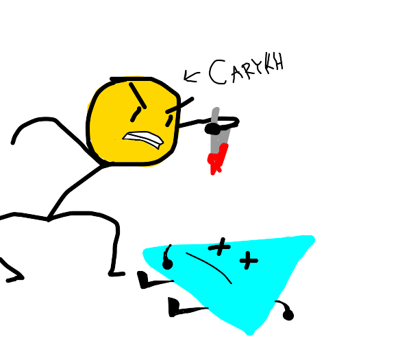 Carykh has just killed an innocent triangle