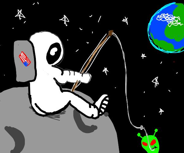 Space Fishin'