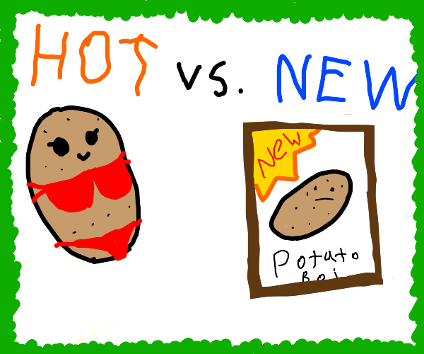 hot potato now a cool potato