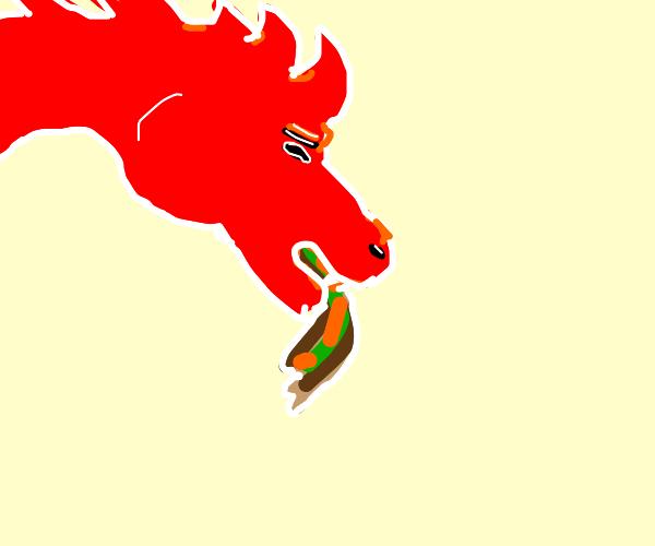 Red Dragon Vomiting