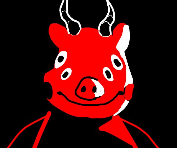 Satanic peppa the pig