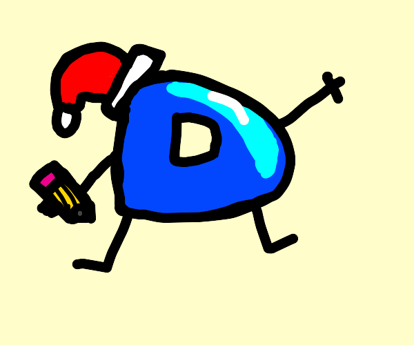 Drawception D is celebrating Christmas!