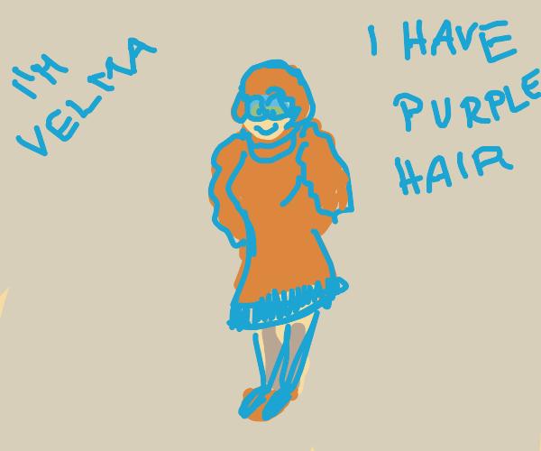 Purple haired Velma