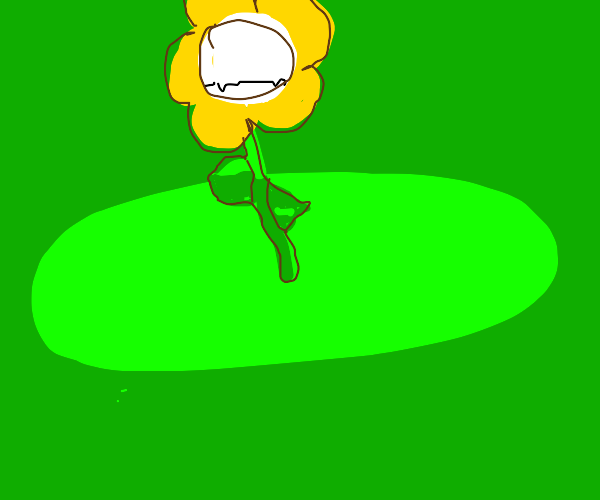 flower, but with a mouth