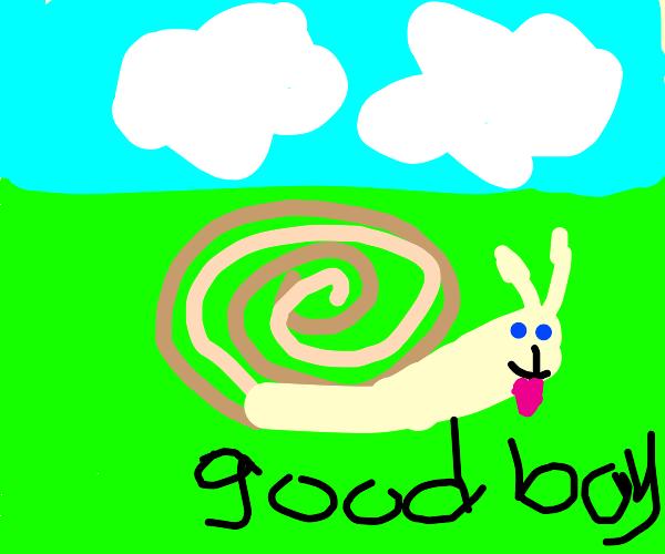 a really good snail