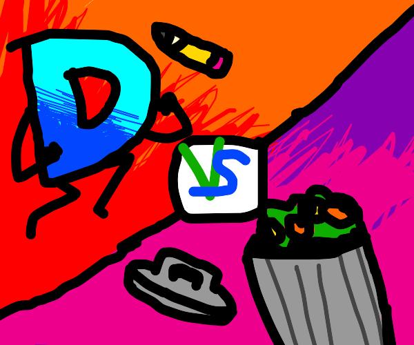 Drawception vs Trash