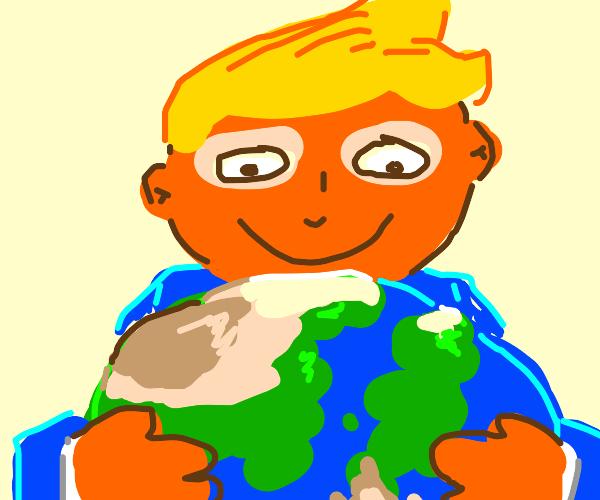 Trump steals the world