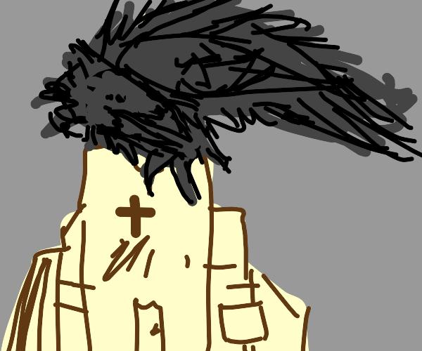 crow overthrows church