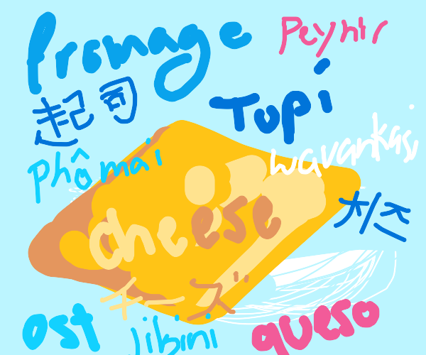 what cheese is called all around the world