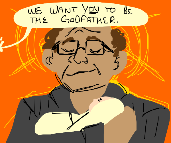 Danny Devito is the godfather