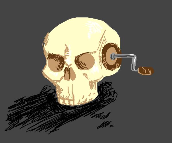 wind-up skull