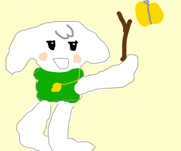 Toroko from Cave Story