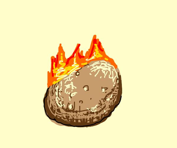 Hot headed potato