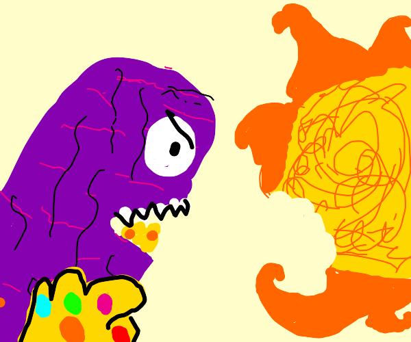 Thanos eats the sun