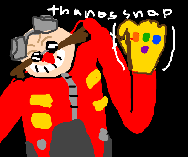 Dr. Eggman Thanos snap