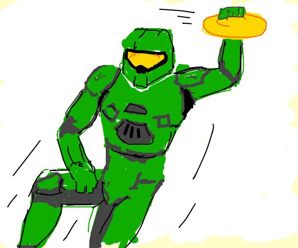 Halo frisbee