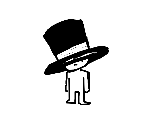 top hat kid