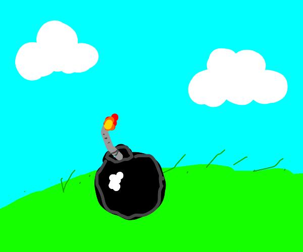 cartoony bomb