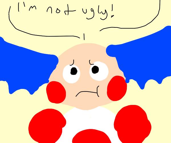 Ugly Clown Pokemon Thing
