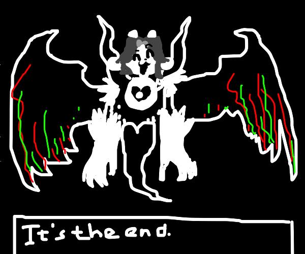 Temmie Dreemurr boss battle