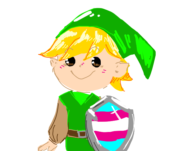 Link (Legend of Zelda) is TRANS