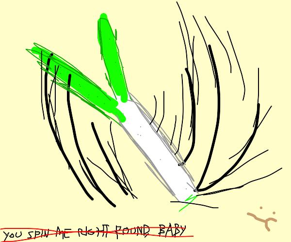 Leek spinning