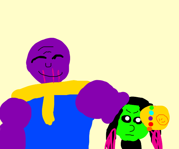 Thanos and his child
