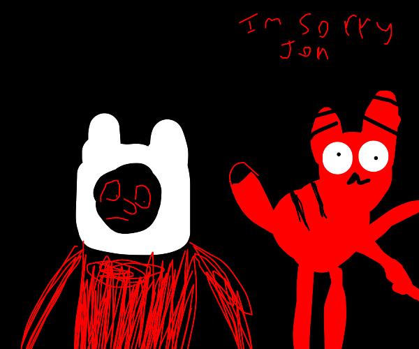 I'm sorry Jon but it's adventure time