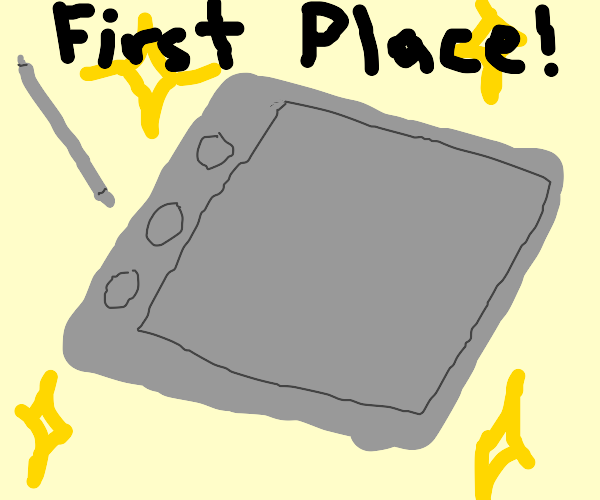 First Place Drawing Tablet