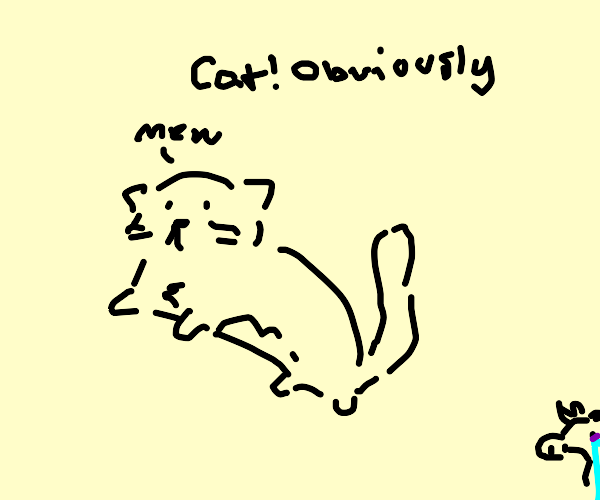 Cow or cat?