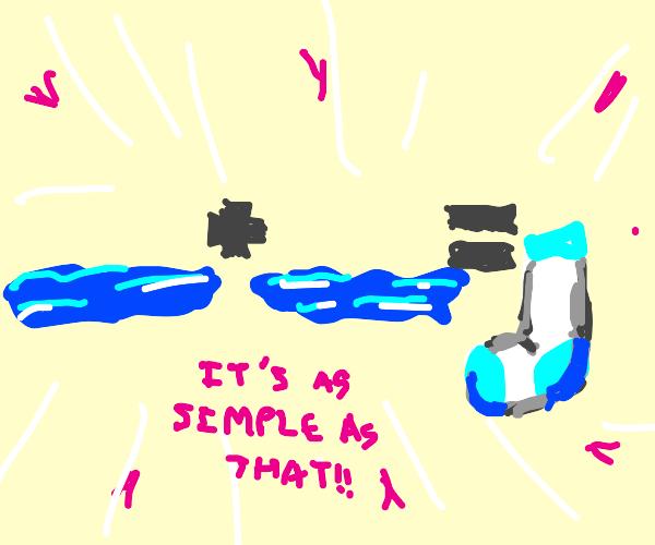 Water + Water = Sock