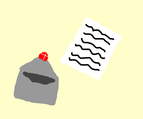 An envelope and a letter