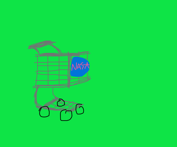 nasa shopping cart