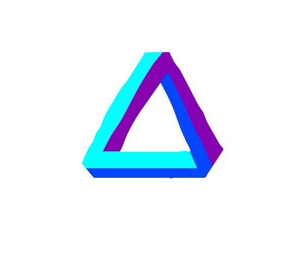 illusion triangle